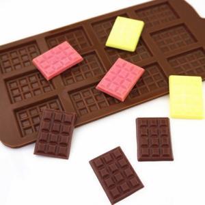 シリコンモールド(新)チョコレートモールド☆クレイクラフト♪エポキシ樹脂☆アロマワックス
