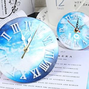 シリコンモールド(新)時計/ローマ数字モールド☆クレイクラフト♪エポキシ樹脂 アロマワックス