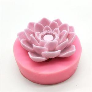 シリコンモールド(新)蓮(Lotus Floweモールド☆クレイクラフト♪キャンドル☆アロマワッ