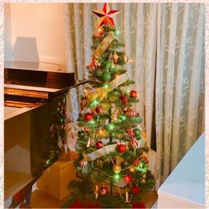 クリスマスツリーの飾りつけ♡