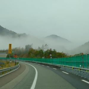 飛騨からの帰り道の紅葉