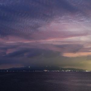 夜の海@エコパーク田原