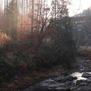 飛騨 荘川のある日の早朝風景 ②