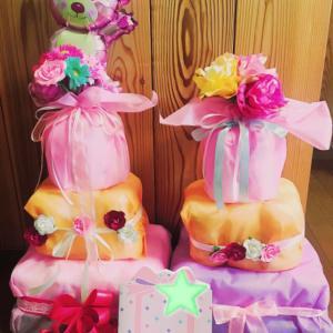手作りおむつケーキ♪