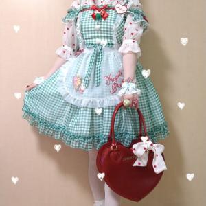 *Dream Heartジャンパースカート(グリーン)*