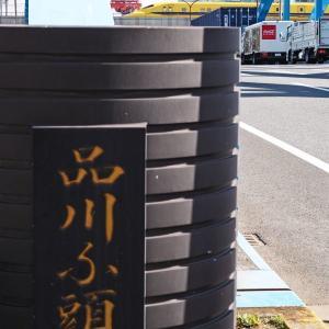 タイミング悪く大きなトラックが・・・(新幹線)