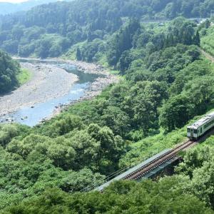 千曲川に沿って(飯山線)