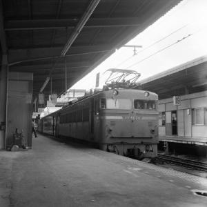 在りし日の上野駅の光景(EF80)