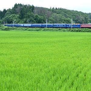 寝台特急「日本海」(奥羽本線EF81)