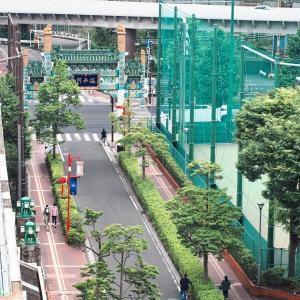 横浜中華街・延平門(根岸線EF65)