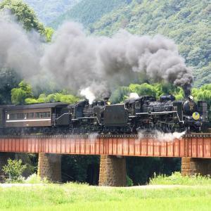 汽車をデカく写した日_Part2(山口線C57+C56)