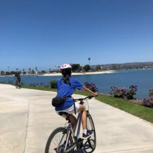 Mission Bay Parkにてサイクリング!の巻