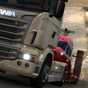 Euro Truck Simulator 2 で遊んでみました