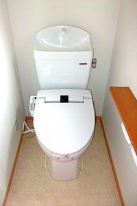 今日の恋人=トイレ。