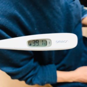 パパの高熱とインフルA型