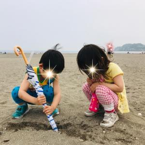 由比ヶ浜散策
