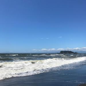 七里ヶ浜と鎌倉
