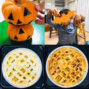 手作りかぼちゃパイとリハビリ復職8日目(テレワーク)