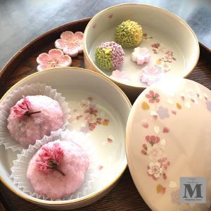 ポーセラーツ☆桜のお重セット♪