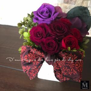 真っ赤な薔薇が似合う素敵なマダムに贈るお花♪