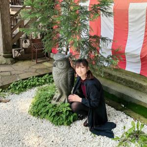 ⛩鷲子神社へ✨✨