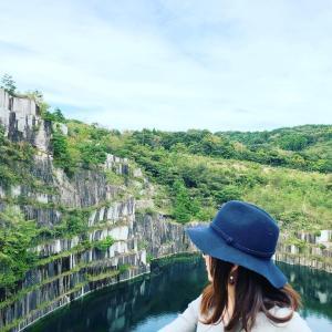 日本最大の採石場『石切山脈』in笠間(*´▽`)ノノ