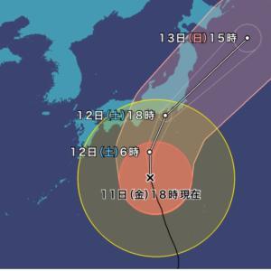 台風のコンチクショー‼︎