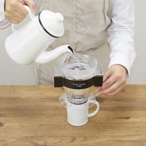1人用コーヒーメーカー「ドリップマイスター シングル FSKD-0119B」