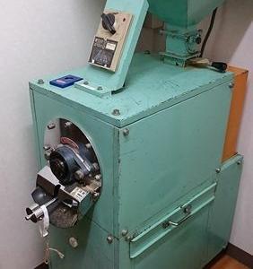 珈琲豆の空研ぎ…精米機で研磨
