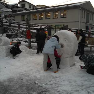 毎年同じだけどそれがいい、雪灯りの散歩みち2019