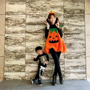 ハロウィンの仮装(◆▼◆)