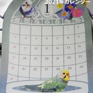 Seliaのインコの来年カレンダー