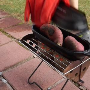 【キャンプ道具】スノーピーク コロダッチ焼き芋