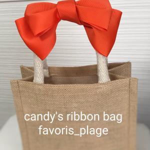 ビタミンカラーでcandy's ribbonbag!