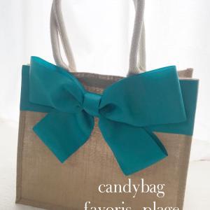 ジュートバッグでcandybag が大人気!