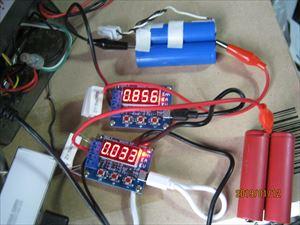 バッテリ容量テスタを試用