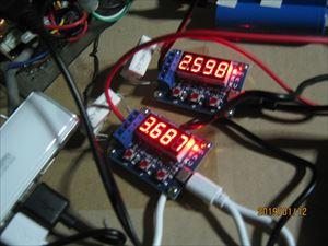 バッテリ容量テスタの精度を確認