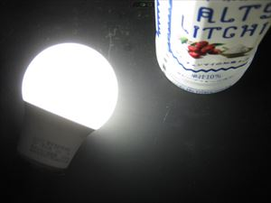 40W100円LED電球は、独立系ソーラーで使用不可