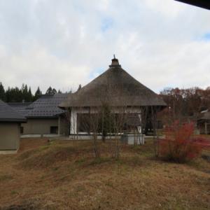 朝食、角館山荘、侘桜。