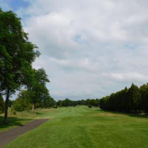2021年8月14日、シャムロックカントリークラブでゴルフ。