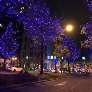 大阪旅行6 クリスマスイルミネーション