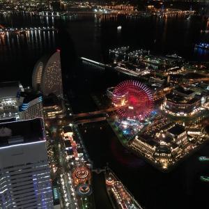 クリスマスイルミネーション 横浜ランドマークタワーとか