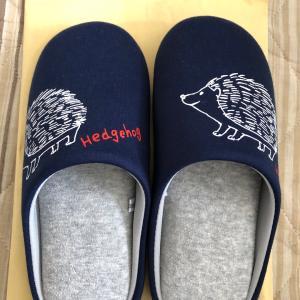 new slippers スリッパ ハリネズミ