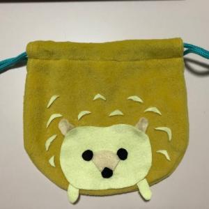 アニマル巾着作りました
