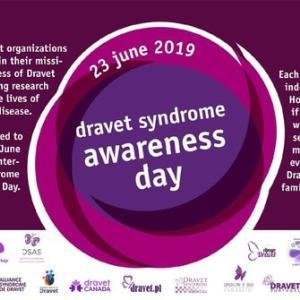 今年も6月23日はドラべ症候群の啓発の日