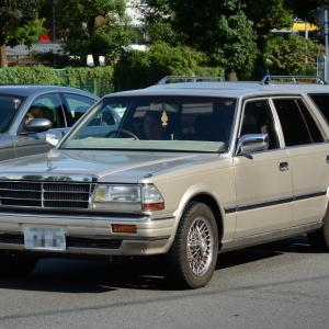 Nissan Gloria Wagon 1983- 長く生産されたグロリア ワゴン