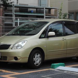 Toyota Corolla Spacio 2001- 立派になった2代目のトヨタ カローラ スパシオ