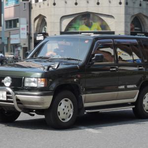 Isuzu Bighorn 1991- 1991年に登場した2代目のいすゞ ビッグホーン