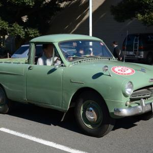 Toyopet Masterline Pickup 1955- サイドのキャラクターラインが印象的なトヨペット マスターライン ピックアップ