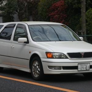 Toyota Vista Ardeo 1998- ユニークなプロポーションのトヨタ ビスタ アルデオ
